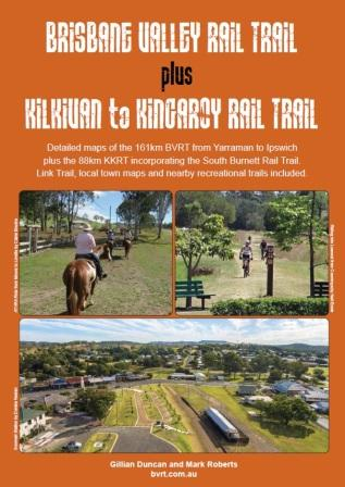 Image for Brisbane Valley Rail Trail plus Kilkivan to Kingaroy Rail Trail [Third Edition]