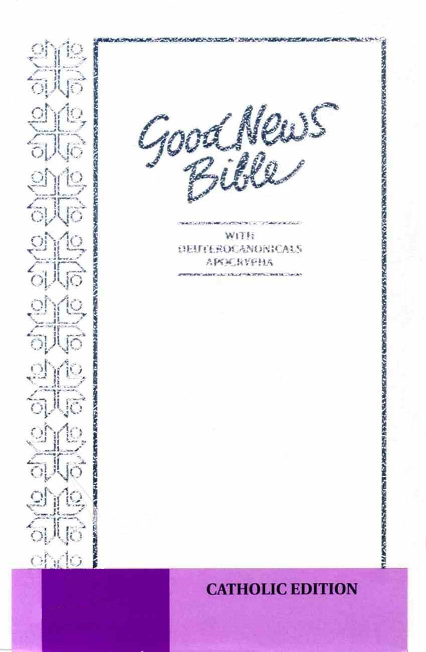 Image for Good News Bible - Australian Text : Catholic Edition - White Cover