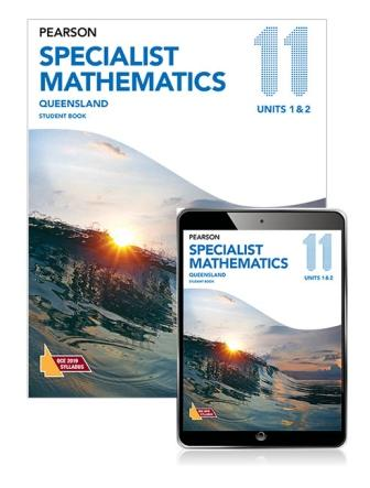 Image for Pearson Specialist Mathematics Queensland 11 Student Book with eBook