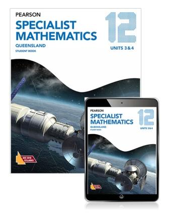 Image for Pearson Specialist Mathematics Queensland 12 Student Book with eBook