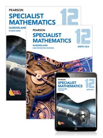 Image for Pearson Specialist Mathematics Queensland 12 Student Book, eBook and Exam Preparation Workbook Combo Pack