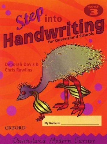 Image for Step into Handwriting for Queensland Year 3