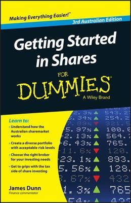 Image for Getting Started in Shares for Dummies 3rd Australian Edition
