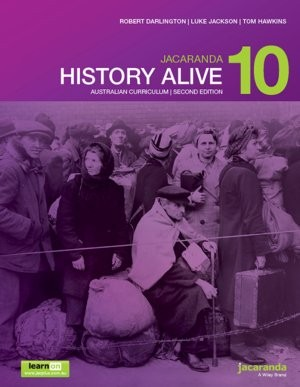 Image for Jacaranda History Alive 10 Australian Curriculum 2e learnON & print *** TEMPORARILY OUT OF STOCK ***
