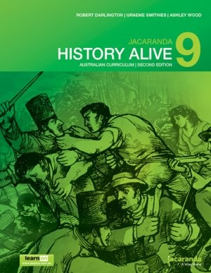 Image for Jacaranda History Alive 9 Australian Curriculum 2e learnON & print *** TEMPORARILY OUT OF STOCK ***