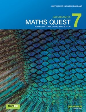 Image for Jacaranda Maths Quest 7 Australian Curriculum 3e LearnON & Print