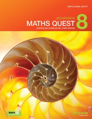 Image for Jacaranda Maths Quest 8 Australian Curriculum 3e LearnON & Print