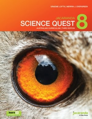 Image for Jacaranda Science Quest 8 Australian Curriculum 3e learnON & print