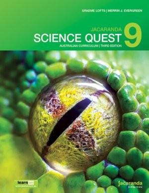 Image for Jacaranda Science Quest 9 Australian Curriculum 3e learnON & Print