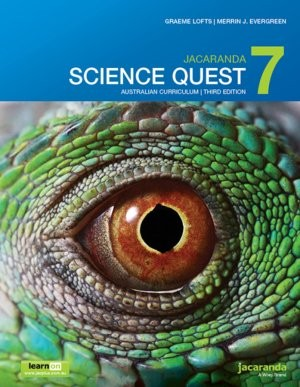 Image for Jacaranda Science Quest 7 Australian Curriculum 3e learnON & print