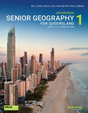 Image for Jacaranda Senior Geography 1 for Queensland Units 1&2 3E eBookPLUS + print *** TEMPORARILY OUT OF STOCK ***