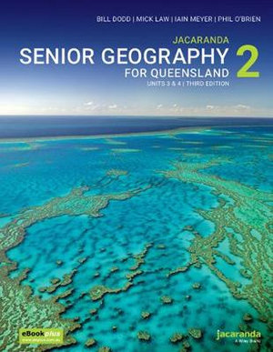 Image for Jacaranda Senior Geography 2 for Queensland Units 3&4 3E eBookPLUS + print