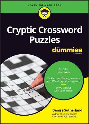 Image for Cryptic Crossword Puzzles for Dummies