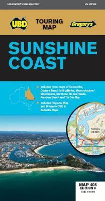 Image for Sunshine Coast Map : Touring Map 405 Edition 8