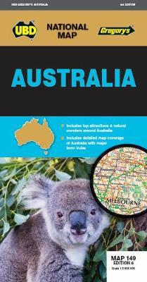 Image for Australia Map : National Map 149 Edition 6