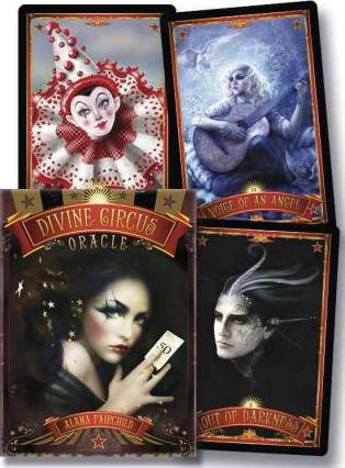 Image for Divine Circus Oracle : Guidance for a Life of Sacred Subversion and Creative Confidence [44 Cards and Guidebook Set]