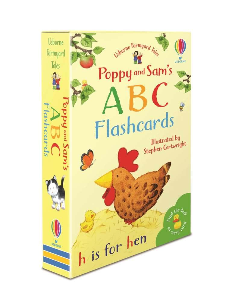 Image for Poppy and Sam's ABC Flashcards : 52 Card Deck