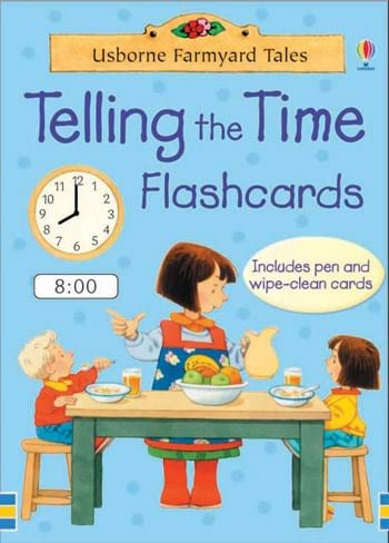 Image for Telling The Time Flashcards : 50 Card Deck