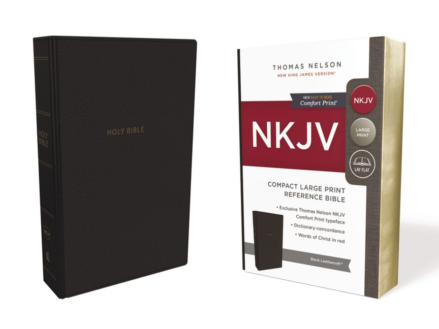 Image for NKJV Compact Large Print Reference Bible : Red Letter Edition