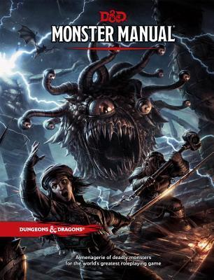 Image for D&D Monster Manual : A Dungeons and Dragons Core Rulebook