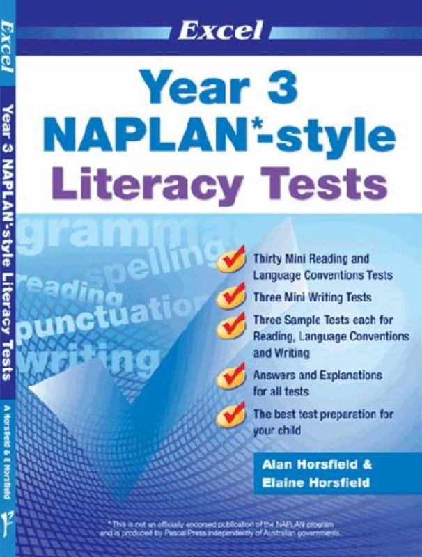 Image for Excel Year 3 NAPLAN-style Literacy Tests