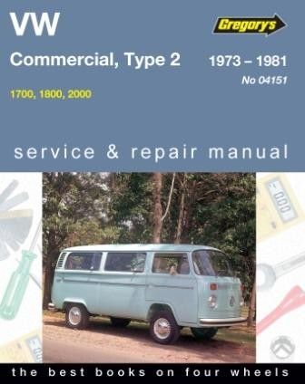 Image for Volkswagen VW Commercial Type 2 1973-1981 1700, 1800, 2000 Service and Repair Manual 04151