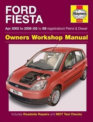 Image for Ford Fiesta 2002-2008 Petrol and Diesel Haynes Owners Workshop Manual 4170
