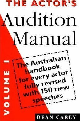 Image for The Actor's Audition Manual Volume 1 : The Australian Handbook for every actor