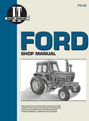 image for ford tractor shop manual (gasoline models 5100 5200 6600 6700  7100 7200)