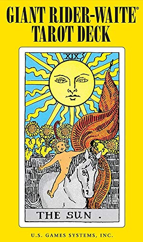 Image for Giant Rider-Waite Tarot Deck : 78 Cards and Instruction Booklet