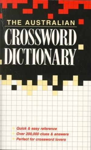Image for The Australian Crossword Dictionary