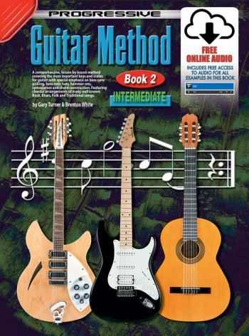 Image for Progressive Guitar Method Book 2 Intermediate (includes Free Online Video and Audio)