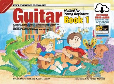 Image for Progressive Guitar Method 1 for Young Beginners Book [Includes free online Video and Audio access]