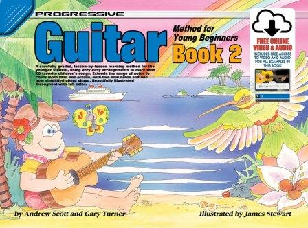 Image for Progressive Guitar Method 2 for Young Beginners Book [Includes free online Video and Audio access]