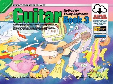 Image for Progressive Guitar Method 3 for Young Beginners Book [Includes free online Video and Audio access]