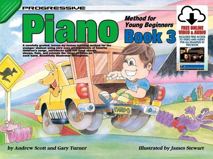 Image for Progressive Piano Method for Young Beginners Book 3 [Free Online Video and Audio]