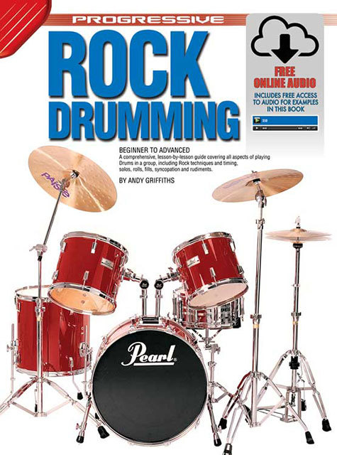 Image for Progressive Rock Drumming Book : Beginner to Advanced [With Free Online Audio]