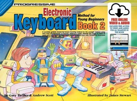 Image for Progressive Electronic Keyboard Method for Young Beginners Book 2 (Includes free Online Video and Audio)
