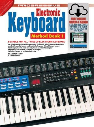 Image for Progressive Keyboard Method Book 1 for Absolute Beginners (Includes Free Online Video and Audio)