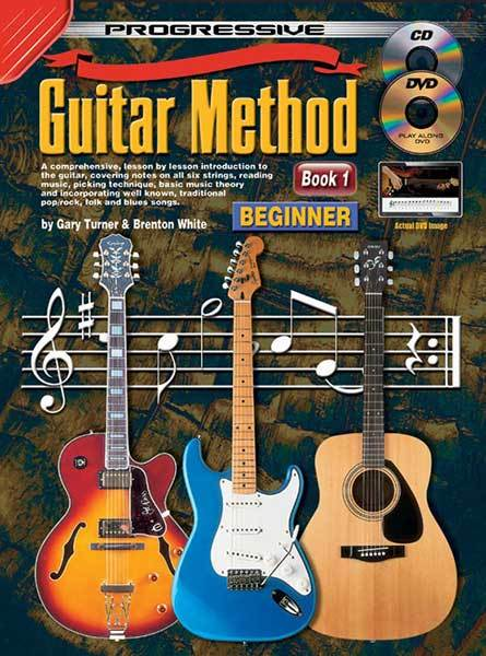 Image for Progressive Guitar Method Book 1 Beginner (includes CD/DVD) Teach Yourself How to Play Guitar