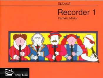 Image for Upbeat Recorder Book 1 (Descant)