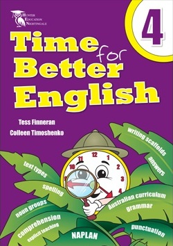Image for Time for Better English 4