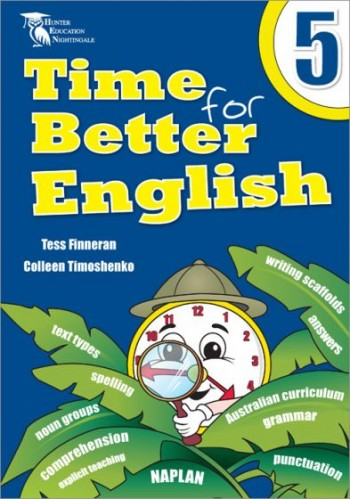 Image for Time for Better English 5