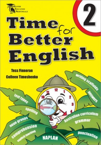 Image for Time for Better English 2
