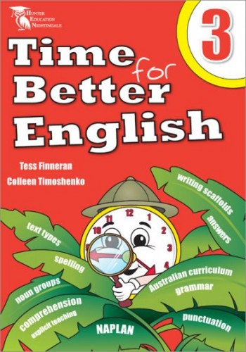 Image for Time for Better English 3