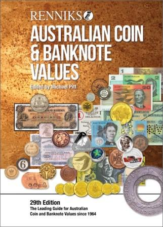 Image for Renniks Australian Coin and Banknote Values [29th Edition 2019] The Leading Guide for Australian Coin and Banknote Values Since 1964