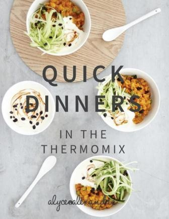 Image for Quick Dinners in the Thermomix