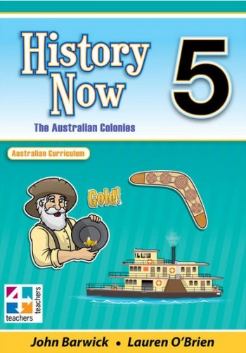 Image for History Now Year 5 Student Book : Australian Curriculum