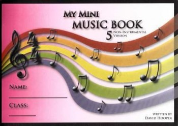 Image for My Mini Music Book 5 - Non-Instrumental Version