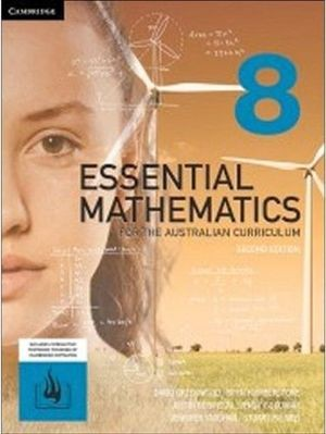 Image for Essential Mathematics for the Australian Curriculum Year 8 Second Edition (print and interactive textbook powered by HOTmaths)